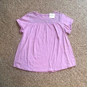Girls plus sized shirt